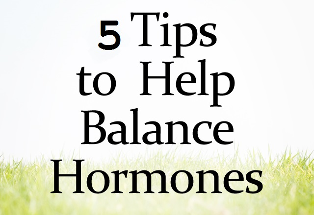 tips to Balance Hormones