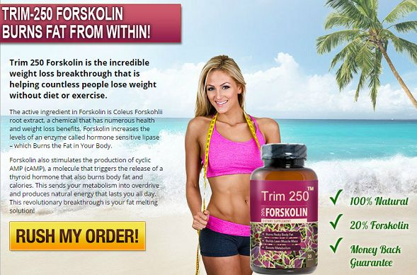 Trim 250 Forskolin Review | Does it Work for Weight Loss?