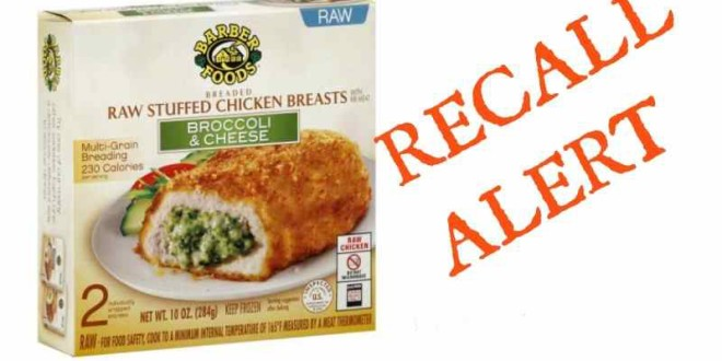 Frozen Chicken Product Recalls Renew Food Poisoning Fears Among