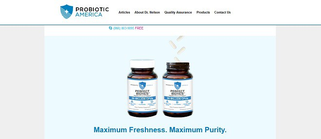 Perfect Biotics by Probiotic America - Diets USA Magazine