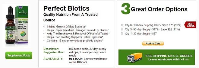 perfect origins perfectbiotics