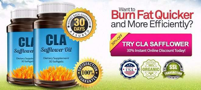 CLA Safflower Oil Leads to Weight Loss, Less Belly Fat