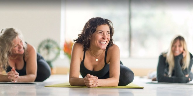 Deepening yoga practice one laugh at a time