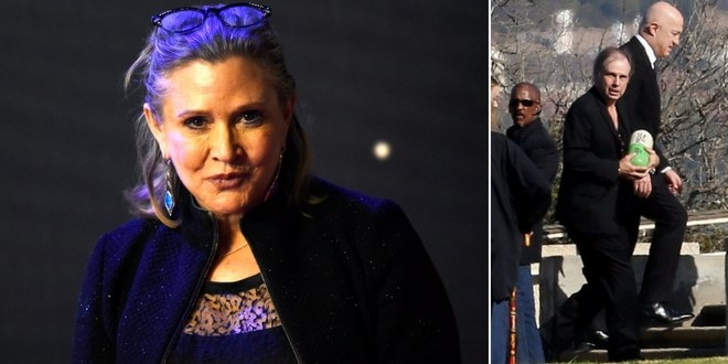 Carrie Fisher to spend eternity in giant Prozac pill