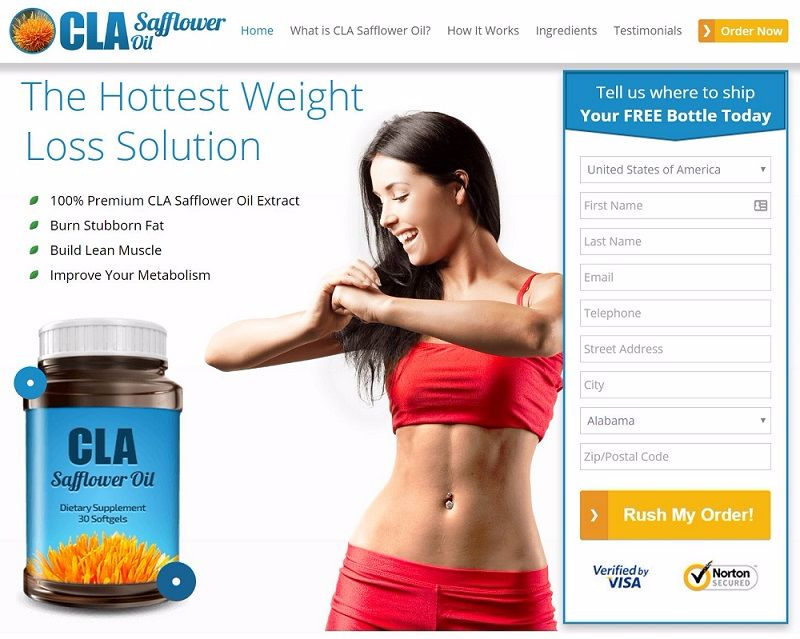 buy cla safflower oil