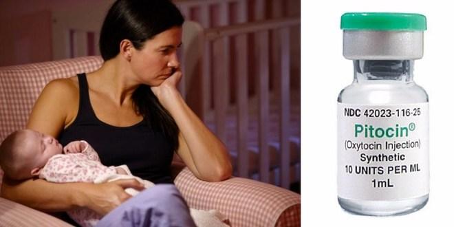 Labor inducing drug linked to postpartum depression