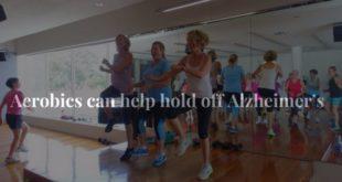 Aerobics can help hold off Alzheimer's