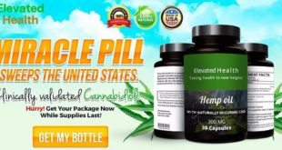 elevated health hemp oil