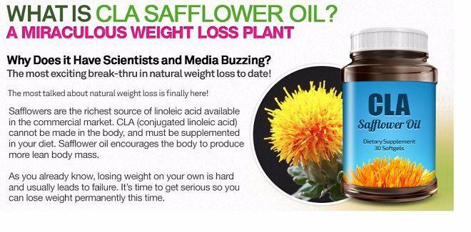 where should I take CLA safflower Oil