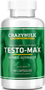 Crazy Bulk Testo Max review